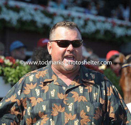 Trainer Eric Guillot talked loudly and carried a big stick with winners like Champagne d'Oro and Arcodoro.