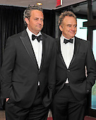 Matthew Perry and Bradley Whitford arrive for the 2013 White House Correspondents Association Annual Dinner at the Washington Hilton Hotel on Saturday, April 27, 2013..Credit: Ron Sachs / CNP.(RESTRICTION: NO New York or New Jersey Newspapers or newspapers within a 75 mile radius of New York City)