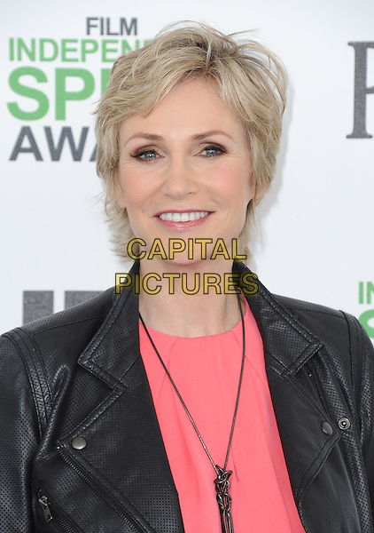 SANTA MONICA, CA, MARCH 01: Jane Lynch at The 2014 Film Independent Spirit Awards held at Santa Monica Beach in Santa Monica, California, USA on March 1st, 2014.                                                                              <br /> CAP/DVS<br /> &copy;Debbie VanStory/Capital Pictures