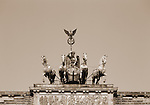 Europe, DEU, Germany, Berlin, Quadriga, Brandenburg Gate....[ For each utilisation of my images my General Terms and Conditions are mandatory. Usage only against use message and proof. Download of my General Terms and Conditions under http://www.image-box.com or ask for sending. A clearance before usage is necessary...Material is subject to royalties. Each utilisation of my images is subject to a fee in accordance to the present valid MFM-List...Contact | archive@image-box.com | www.image-box.com ]