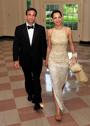 Philip Gordon, Assistant Secretary of State for European and Eurasian Affairs, and his wife, Rachel, arrive for a State Dinner in honor of Chancellor Angela Merkel of Germany at the White House in Washington, D.C.  on Tuesday, June 7, 2011.Credit: Ron Sachs / CNP