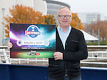 Alex McLeish promoting the Old Firm cup semi on Sunday