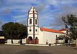 Historic church, Santo Domingo de Guzman, Tetir village, Fuerteventura,  Canary Islands, Spain