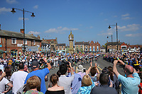 Picture by SWpix.com - 05/05/2018 - Cycling - 2018 Tour de Yorkshire - Stage 3: Richmond to Scarborough - the peloton passes through Thirsk