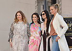 Lucy Liu Honored With Star On The Hollywood Walk Of Fame on May 01, 2019 in Hollywood, California.<br /> Lucy Liu 034 Drew Barrymore, Demi Moore, Cameron Diaz