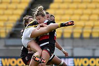 Hazel Tubic of Counties Manukau in action during the Farah Palmer Cup - Wellington Pride v Counties Heat at Westpac Stadium, Wellington, New Zealand on Sunday 15 September 2019. <br /> Photo by Masanori Udagawa <br /> www.photowellington.photoshelter.com
