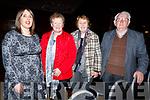 At the Churchill Variety Show in Ballyroe Hotel on Sunday evening<br /> L to r: Helena Wrenn, Marie O'Sullivan, Mary and Jim Wrenn
