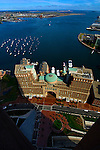 Rowes Wharf, Boston Harbor and Rose Kennedy Greenway, Boston, MA