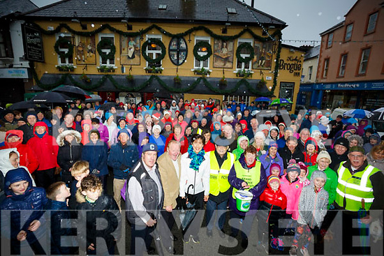 Hundreds show up to take part in the Bill Kirby's memorial St Stephens Day Walk from Kirby's Brogue Inn Tralee in aid of Kerry Hospice Foundation.