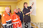 HEADQUARTERS: Getting maps together in the search for , at Ballyheigue Community Centre on Saturday were members of Ballybunion Sean Rescue and Civil Defence, Tom Brosnan (civil Defence Manager), TJ McCarron (Ballybunion Sea Rescue and Coast Guard), Tom Brick (search manager) and Caroline McConnell(Search Rescue). .CLEAN: Some members of the clean up party at Fenit on Saturday they were; Paggy Daly,Mary Daly,Sarah Kate Daly,James McCarthy,Hazel Reid and Margaret Crowley.COMMUNITY; repersenting Ardfert/Kilmoyley in the Community Games Basketball on Saturday at Presentation Gym, Tralee were: Mary Lyne,Uahe O'Riordan,Rachel and Jenny O'mahony,Aileen McElligott,Fiona Wolfe,Aine O'Connor,Louise O'Flaherty,Joanne Mehan and Maeve Godley. .GAMES: Playing in the Basketball community games at Presentation Gym, Tralee on Saturday were members of Strand Road team. Front l-r: Victoria Samul,Derek Horgan(asst coach) and Emma Linnane. Back l-r: Laura Falvey,caoimhe Crowe,Katie Kelly and Maeve Linnane. .BASKETBALL: Playing in the Community Games basketball at Presentation Gym, Tralee on Saturday were Rock Street/Caherslee. Caoimhe Barry Walsh,Niamh Myers,Courtney Ryan and Marie Horgan. Back l-r: Laura Carroll, Sinead Ryall, kavina Quilter,Caitriona Collins and Clodagh Fitzgerald..Sarah, daughter of Ita and Tadgh Brosnan, Lis Carroll, Co,Cork and Thomas, son of Breda and Tom McElligott, who were married on Friday at St Joseph's Church Liscarroll, Co Cork by Fr John O'Riordan. Best man was Billy McElligott brother of the groom, and groomsmen were Liam Fitzpatrick and Pater McCarthy. Bridesmaids were, Therese, Emma and mairead Brosnan. Flowergirl was Ruby McElligott -Egan. Pageboy was Rian Bartley. The reception was held at Ballyroe Heights Hotel, Tralee. The couple will reside Liscarroll. .A great day for the pupils of Balloonagh School, Tralee as they were confirmed on Friday by the Bishop of Kerry Bill Murphy. .Aileen, daughter of Letitia and John O'Driscoll, Tubridmore, Ardfert, a