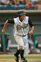 June 15 2007:  Larry Infante of the Rancho Cucamonga Quakes during game against the Modesto Nuts at The Epicenter in Rancho Cucamonga,CA.  Photo by Larry Goren/Four Seam Images