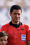 FIFA Referee Alireza Faghani of Iran is seen prior to the AFC Asian Cup UAE 2019 Group F match between Japan (JPN) and Turkmenistan (TKM) at Al Nahyan Stadium on 09 January 2019 in Abu Dhabi, United Arab Emirates. Photo by Marcio Rodrigo Machado / Power Sport Images
