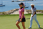 Melissa Edmonson and Greg Norman