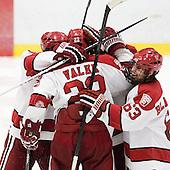 - The Harvard University Crimson defeated the University of New Hampshire Wildcats 7-6 on Tuesday, November 22, 2011, at Bright Hockey Center in Cambridge, Massachusetts.