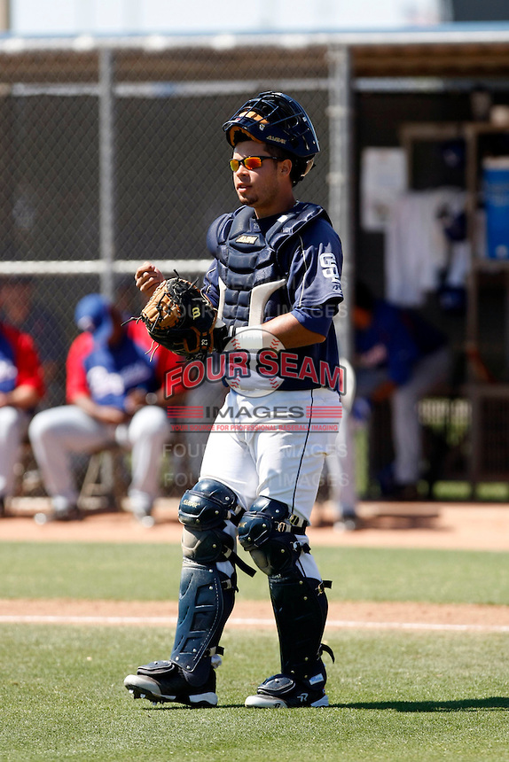 Emmanuel Quiles - San Diego Padres - 2009 spring training.Photo by:  Bill Mitchell/Four Seam Images