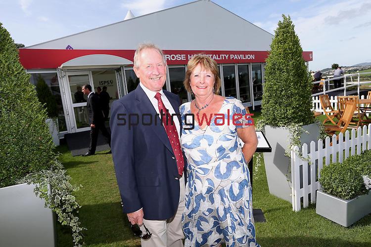 ISPS Handa Wales Open 2013<br /> Celtic Manor Resort<br /> Stuart &amp; Jean Ritter<br /> <br /> 01.09.13<br /> <br /> &copy;Steve Pope-Sportingwales