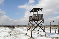 POLAND Oswiecim, Auschwitz-Birkenau II, concentration camp of german Nazi regime, where 1 billion jews where murdered by SS in gas chamber (1940-1945) , UNESCO world heritage / POLEN Oswiecim, Auschwitz-Birkenau II, deutsches nationalsozialistisches Konzentrations- und Vernichtungslager (1940-1945) , hier wurden ca. 1 Million Juden durch die SS in Gaskammern ermordet