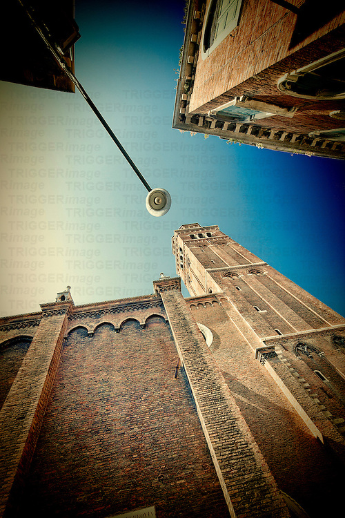 Low angle view of San Polo church, Venice, Italy