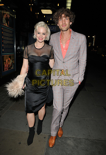 "Kimberly Wyatt and Max Rogers at the ""Waitress"" cast change media night, Adelphi Theatre, The Strand, London, England, UK, on Tuesday 02nd July 2019.<br /> CAP/CAN<br /> ©CAN/Capital Pictures"