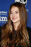SANTA BARBARA, CA - FEB 3: Shailene Woodley at the 27th annual Santa Barbara Film Festival Virtuosos Award Ceremony at the Arlington Theater on February 3, 2012 in Santa Barbara, California