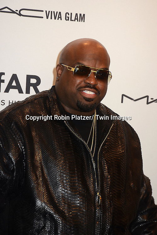 Cee Lo Green attends the amfAR New York Gala to kick off Fashion Week on February 6, 2013 at Cipriani Wall Street in New York City. The honorees were Heidi Klum, Janet Jackson  and Kenneth Cole.