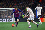UEFA Champions League 2018/2019.<br /> Quarter-finals 2nd leg.<br /> FC Barcelona vs Manchester United: 3-0.<br /> Philippe Coutinho vs Victor Lindelof.