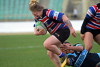 Lauren Balsillie in action during the 2019 Manawatu premier women's club rugby Prue Christie Cup final match between Feilding Old Boys Oroua and Kia Toa at CET Arena in Palmerston North, New Zealand on Saturday, 13 July 2019. Photo: Dave Lintott / lintottphoto.co.nz