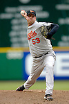 21 May 2006: Todd Williams, pitcher for the Baltimore Orioles, on the mound against the Washington Nationals at RFK Stadium in Washington, DC. The Nationals defeated the Orioles 3-1 to take 2 of 3 games in their first inter-league series...Mandatory Photo Credit: Ed Wolfstein Photo..