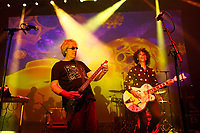 LONDON, ENGLAND - JUNE 8: Steve Hillage and Kavus Torabi of 'The Steve Hillage Band' performing at Shepherd's Bush Empire on June 8, 2019 in London, England.<br /> CAP/MAR<br /> ©MAR/Capital Pictures
