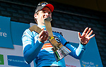 Greg Van Avermaet (BEL) BMC Racing Team takes the overall victory after Stage 4 of the Tour de Yorkshire 2018 running 189.5km from Halifax to Leeds, England. 6th May 2018.<br /> Picture: ASO/Alex Broadway | Cyclefile<br /> <br /> <br /> All photos usage must carry mandatory copyright credit (&copy; Cyclefile | ASO/Alex Broadway)