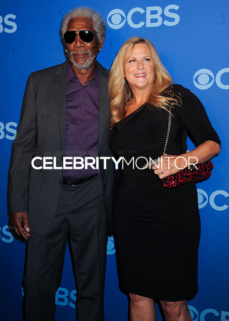 NEW YORK CITY, NY, USA - MAY 14: Morgan Freeman at the 2014 CBS Upfront held at Carnegie Hall on May 14, 2014 in New York City, New York, United States. (Photo by Celebrity Monitor)