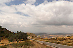 Samaria, the road to the top of Mount Ebal