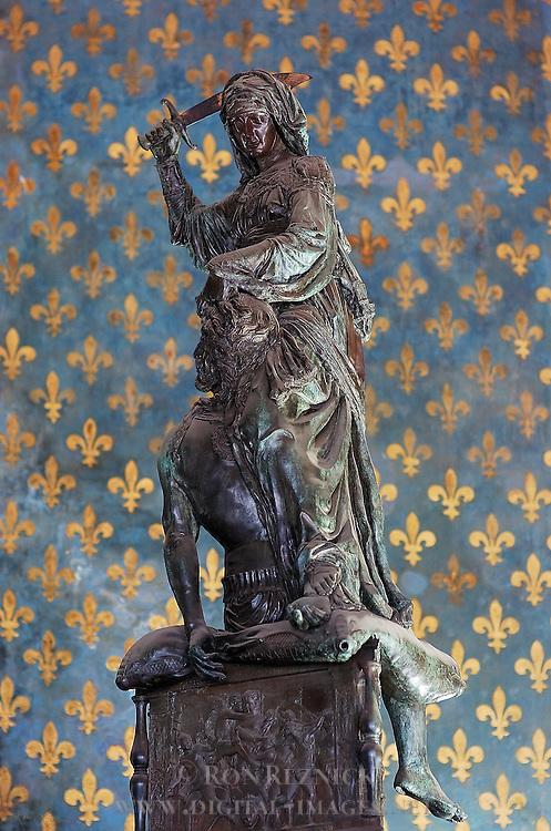 Judith and Holofernes Donatello Sala dei Gigli (Hall of Lilies) Palazzo Vecchio Florence