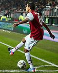 Nederland, Alkmaar, 19 januari  2013.Eredivisie.Seizoen 2012/2013.AZ-Vitesse 4-1.Adam Maher van AZ in actie met de bal