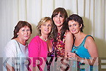Deborah Naughton, Tralee, Kathleen Coffey, Killarney, Noleen O'Shea and Breda Costello, Tralee at the Rose of Tralee Fashion Show at the Dome on Sunday Night.