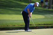 4th June 2017, Dublin, OH, USA;  Greg Chalmers of Australia puts on the ninth hole during the final round of The Memorial Tournament  at the Muirfield Village Golf Club in Dublin, OH.