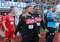 Dries Mertens  durante il  ritiro precampionato del SSC Napoli a Dimaro<br />  05 Luglio  2017
