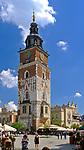 Wieża Ratuszowa na Rynku Głównym w Krakowie, Polska<br /> Town Hall Tower on the Main Market Square in Cracow, Poland