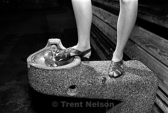 Sue Quayle's legs<br />