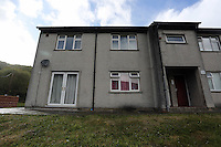 2016 02 25 New house for Georgie Davies, UK's fattest woman in Aberdare, UK