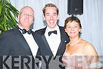 ..FAN: Fans of the Ryans Turbidy who met up with him on Friday night at the Rose of Tralee Ball on Friday night.. ....