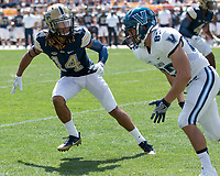 Pitt defensive back Avonte Maddox. The Pitt Panthers defeated the Villanova Wildcats 28-7 at Heinz Field, Pittsburgh, Pennsylvania on September 3, 2016.