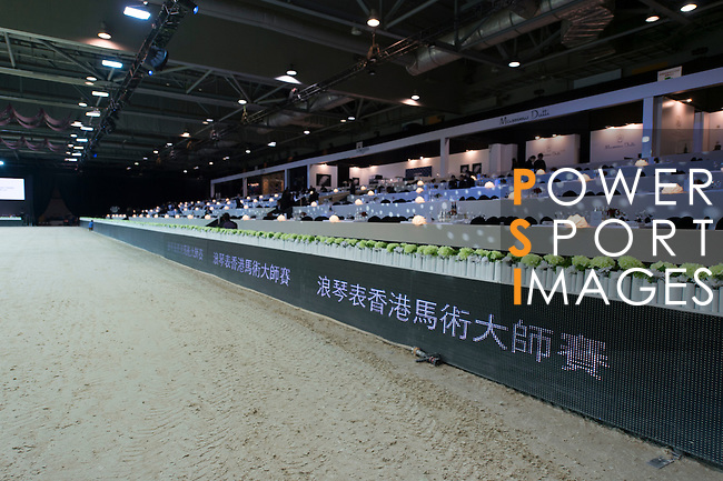 The HKJC Race of the Rider during the Longines Masters of Hong Kong on 20 February 2016 at the Asia World Expo in Hong Kong, China. Photo by Li Man Yuen / Power Sport Images