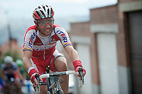 Liege-Bastogne-Liege 2012.98th edition..Joaquim Rodriguez up Saint-Nicolas