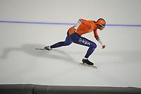 SPEEDSKATING: CALGARY: Olympic Oval, 30-11-2017, ISU World Cup training, Daidai Ntab (NED), ©photo Martin de Jong