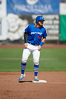 Garrett Hope (44) of the Ogden Raptors during the game against the Idaho Falls Chukars in Pioneer League action at Lindquist Field on July 2, 2017 in Ogden, Utah. Ogden defeated Idaho Falls 6-5. (Stephen Smith/Four Seam Images)