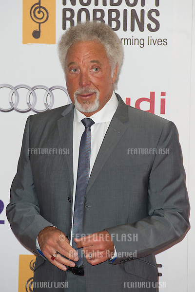 Tom Jones arriving for the Silver Clef Awards, Hilton Hotel, Park Lane, London. .29/06/2012 Picture by: Simon Burchell / Featureflash