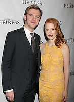 "Dan Stevens and Jessica Chastain attend the opening night party for Broadway's ""The Heiress"" at The Edison Ballroom in New York, 01.11.2012...Credit: Rolf Mueller/face to face / MediaPunch Inc  **online only for weekly magazines**** .<br />