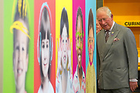 08 April 2019 - UK - Prince Charles Prince of Wales meets workers during his visit to Pirelli Tyres Ltd in Carlisle to celebrate their 50th anniversary. Photo Credit: ALPR/AdMedia