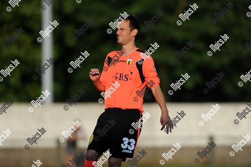 2012-09-04 / Voetbal / seizoen 2012-2013 / Berchem Sport / Nico Van der Linden..Foto: Mpics.be